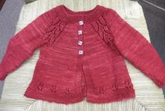 530 Georgies baby girl sweater