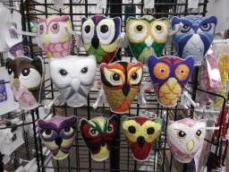613 Owls hanging