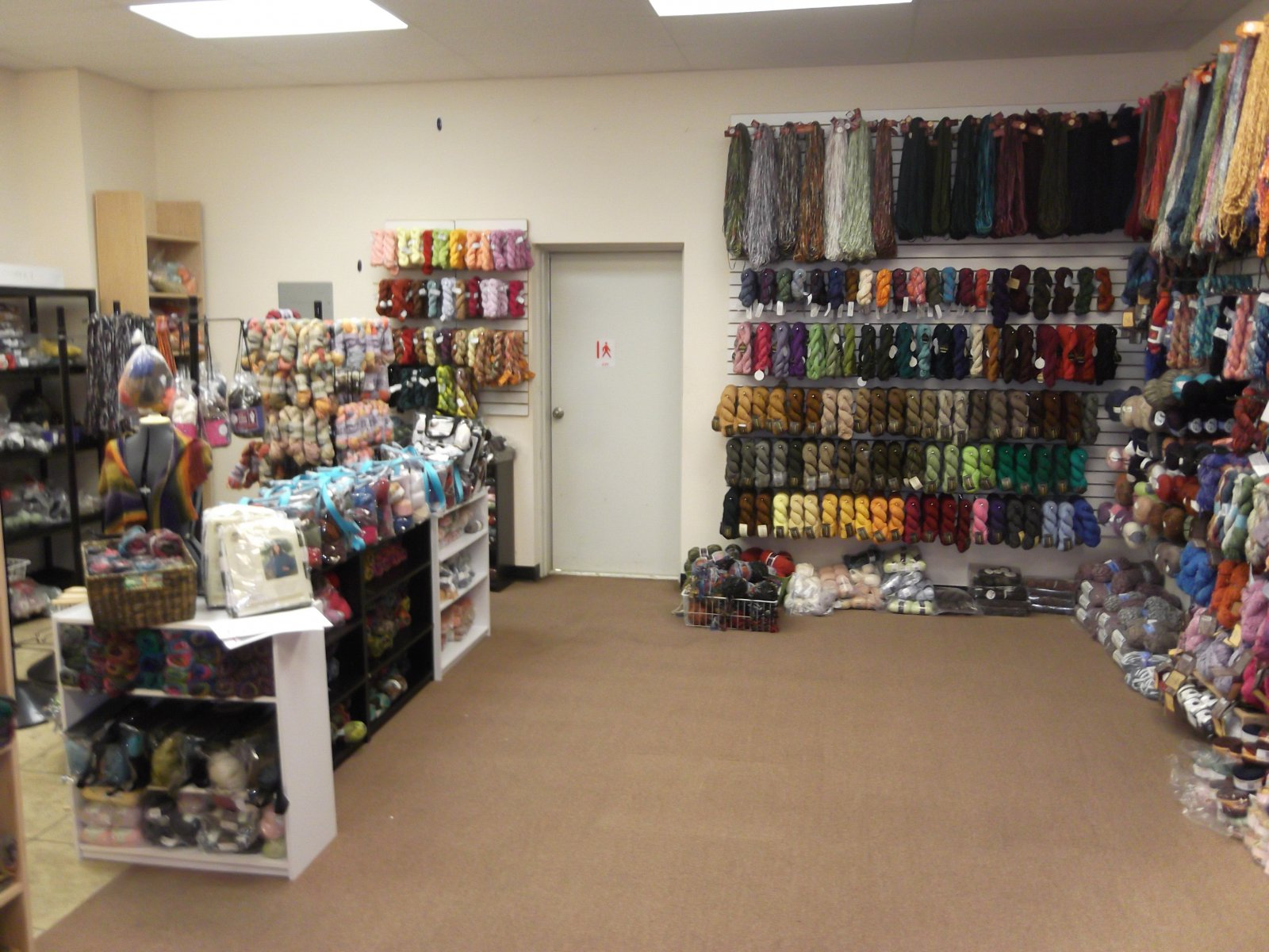 The back room is now clearance yarn.