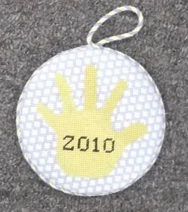 Sarah's A's Ornament