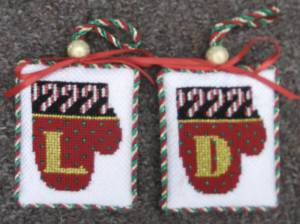 June's Mitten Ornaments