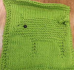 A washcloth by Georgie