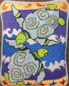 Avra's Turtle Pillow
