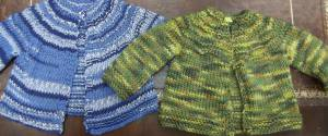 Leona's Baby Sweaters