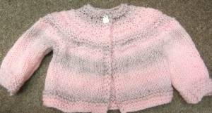 Sandy's Pink Five Hour Sweater