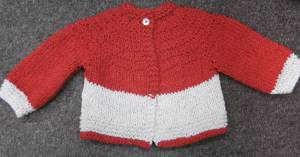 Sandy's Red Five Hour Sweater