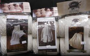 Appalachian Baby Blankets and Robe Kits
