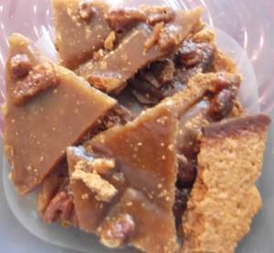 Marian's Pecan Praline Cookies