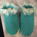 Ramona's Felted Slippers