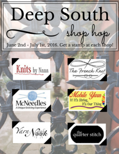Deep South Shop Hop Passport 2016